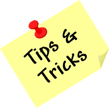 Tips and tricks picture